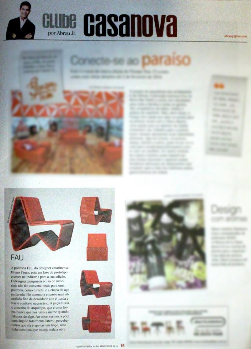Diário Catarinense Caderno Casa Nova - 15.01.2014