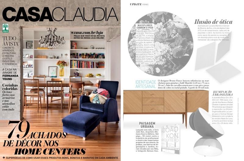 Casa Claudia - Agosto - 2016