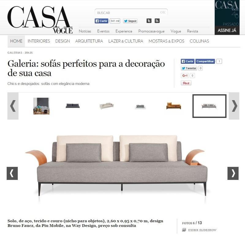 Casa Vogue - Novembro 2015 - site