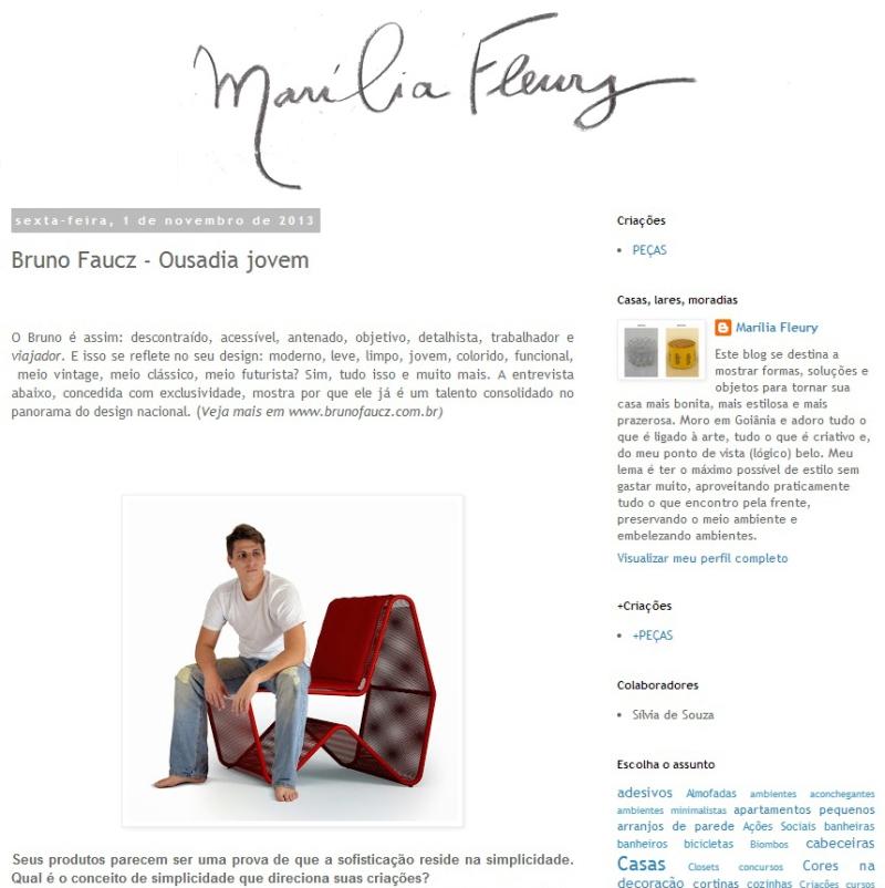 Entrevista Maília Fleury - Outubro 2013