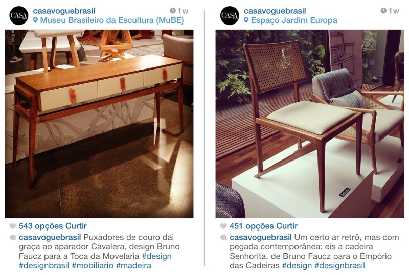 Instagram Casa Vogue