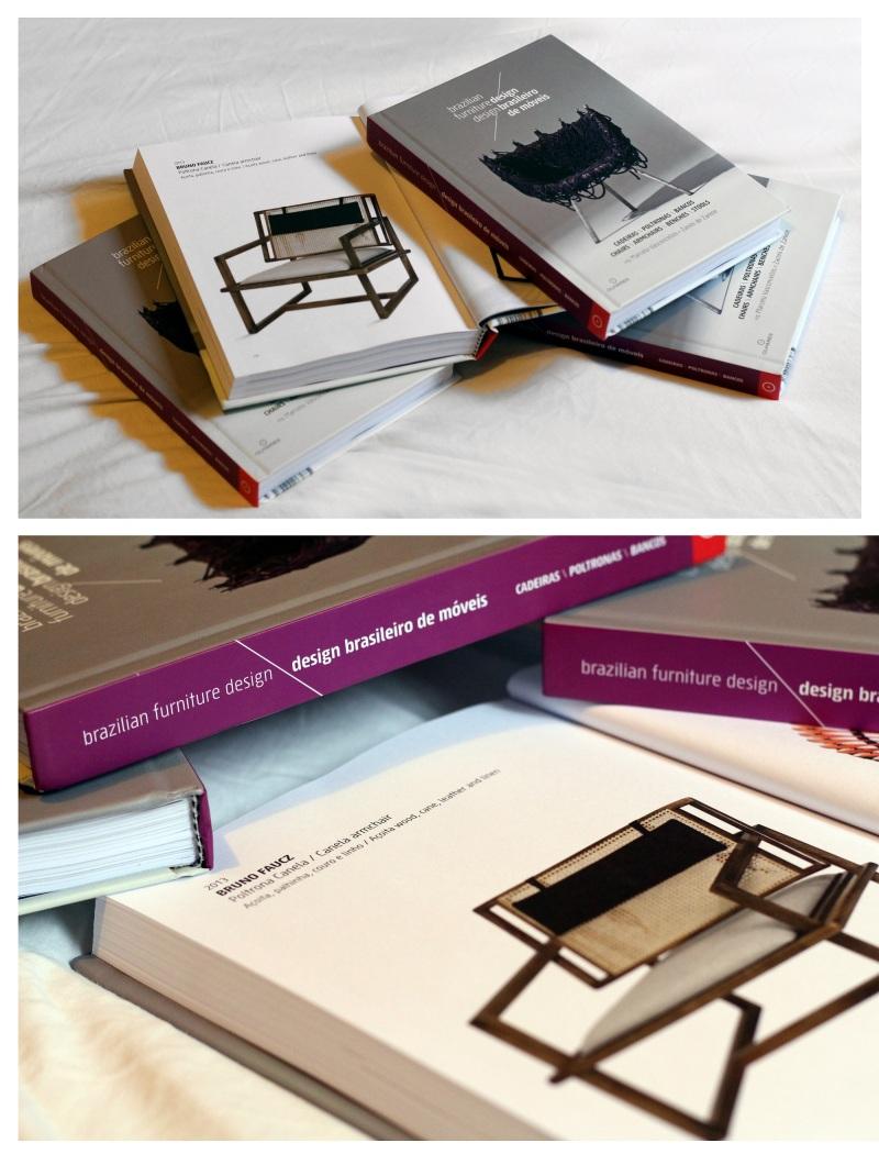Livro Design Brasileiro de Móveis - Dezembro 2013