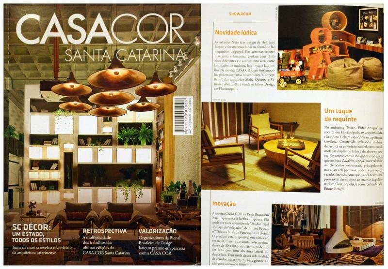 Revista Casa Cor SC 2014