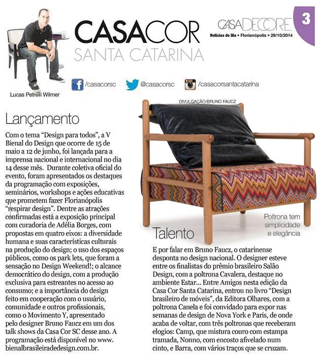 Revista Casa Decore - Casa Cor - outubro 2014