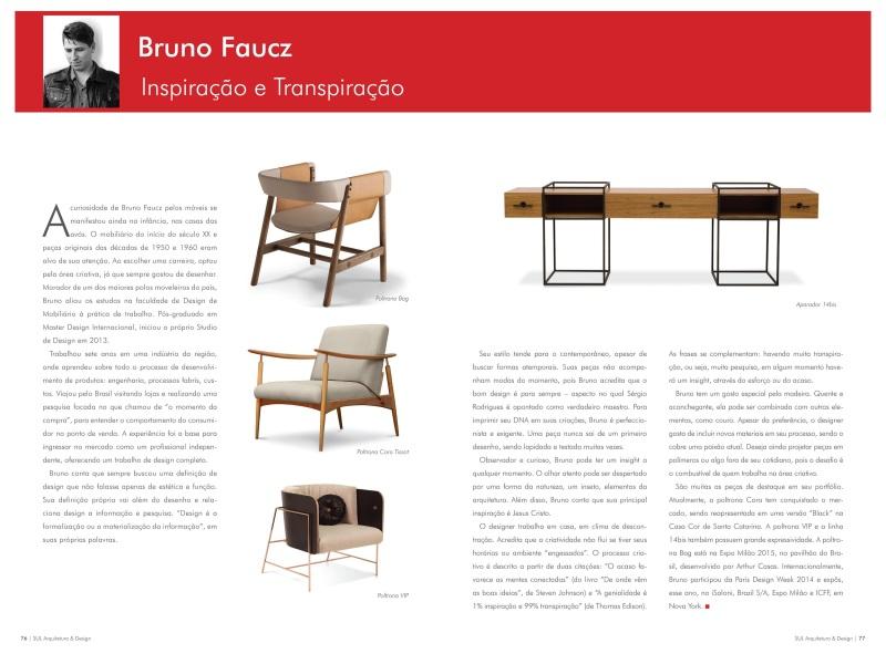 Revista Sul Design (primeira edição) - Junho 2015 - Coluna Herbert Henn