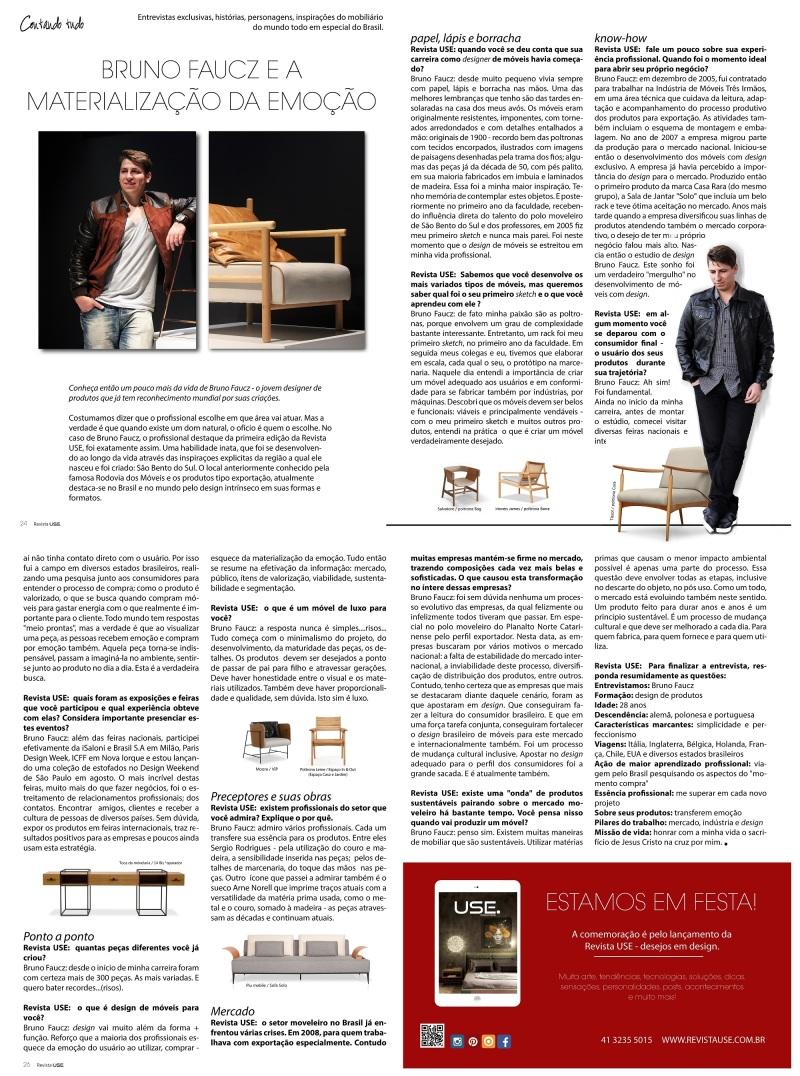 Revista USE - Agosto 2015