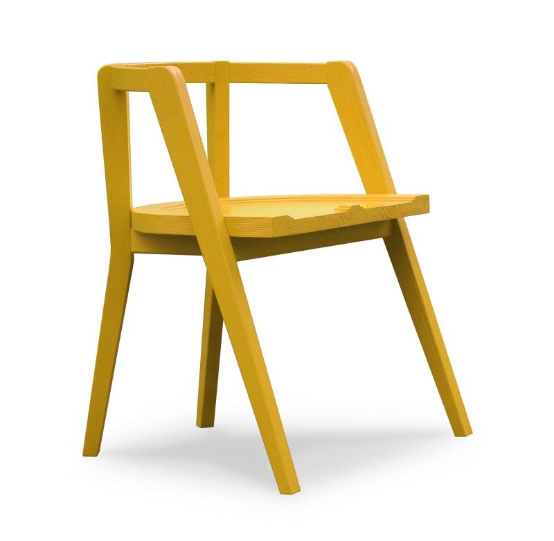 Cadeira Básica (1) - amarelo